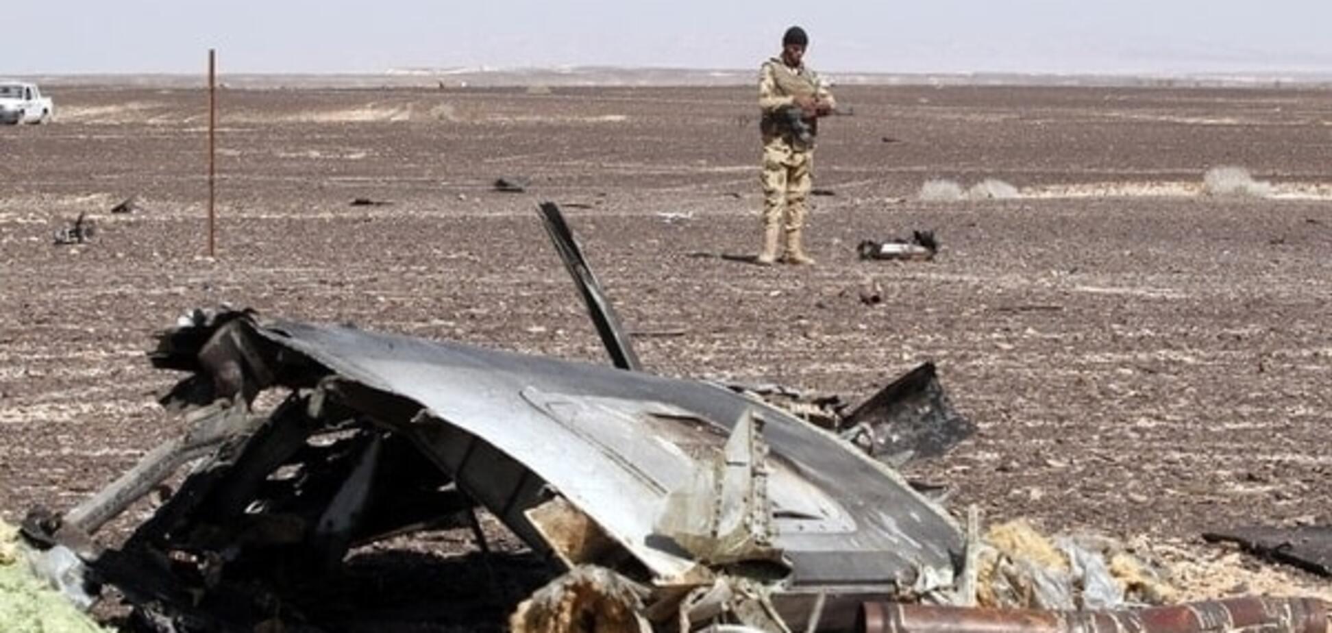 Названо три основні версії катастрофи російського літака в Єгипті