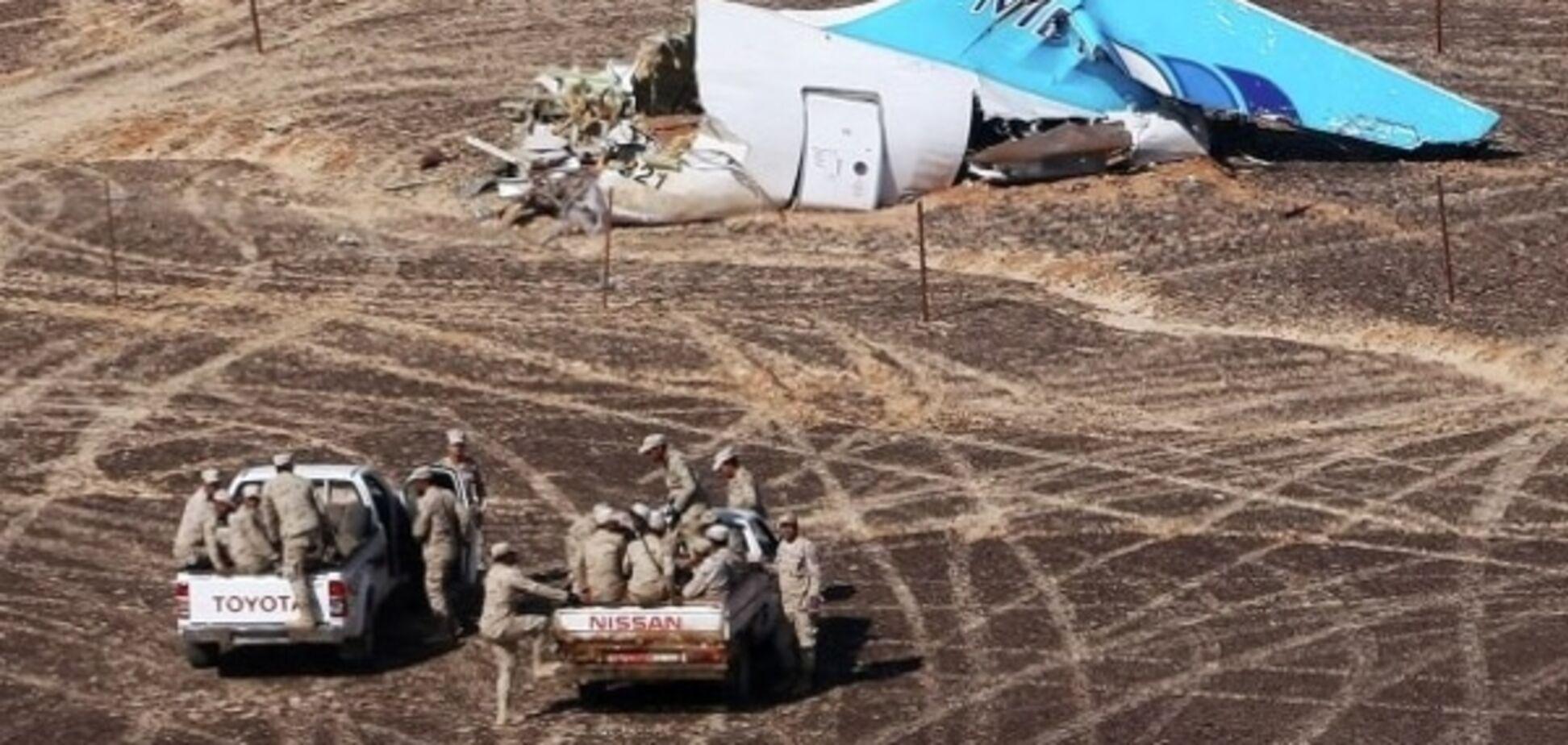 На месте гибели А321 в Египте обнаружили паспорта украинцев