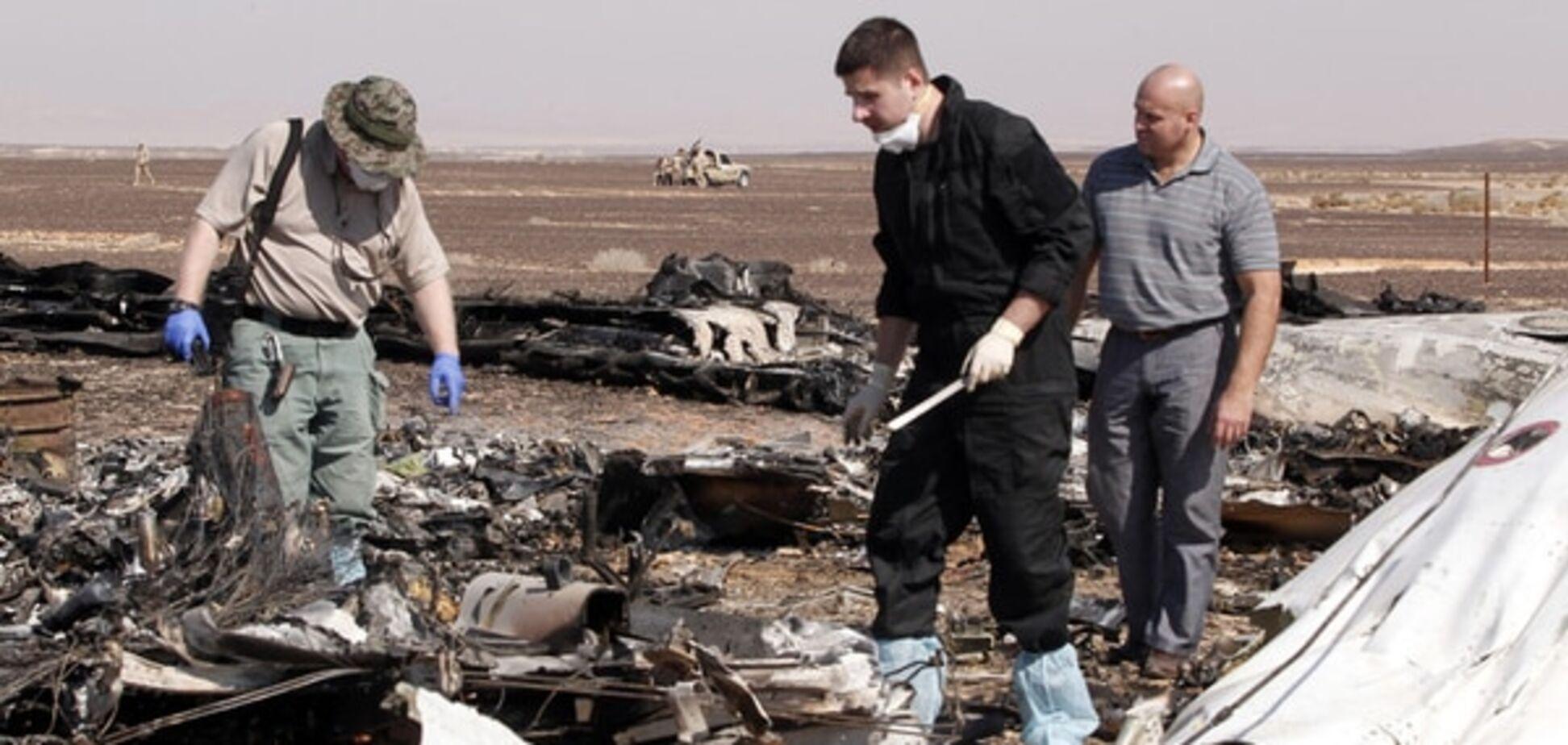 Reuters сообщило о первых данных 'черных ящиков' Airbus A321, разбившегося в Египте