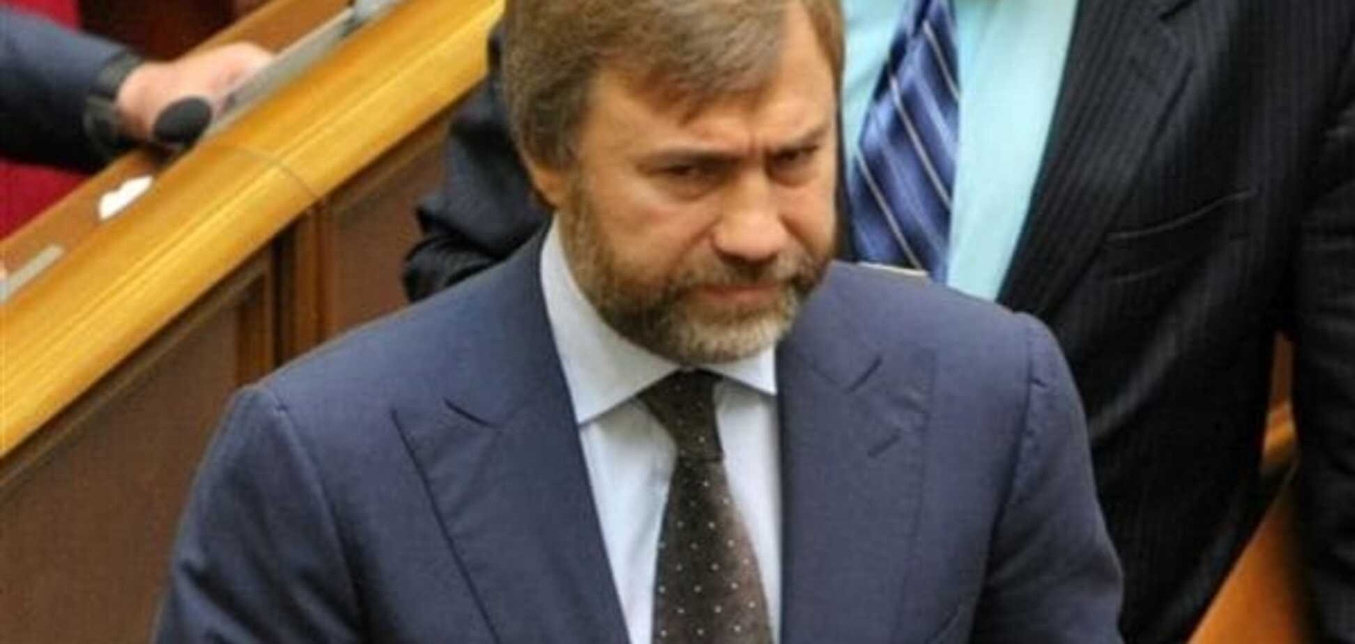 МВС збирається вручити повістку Новинському