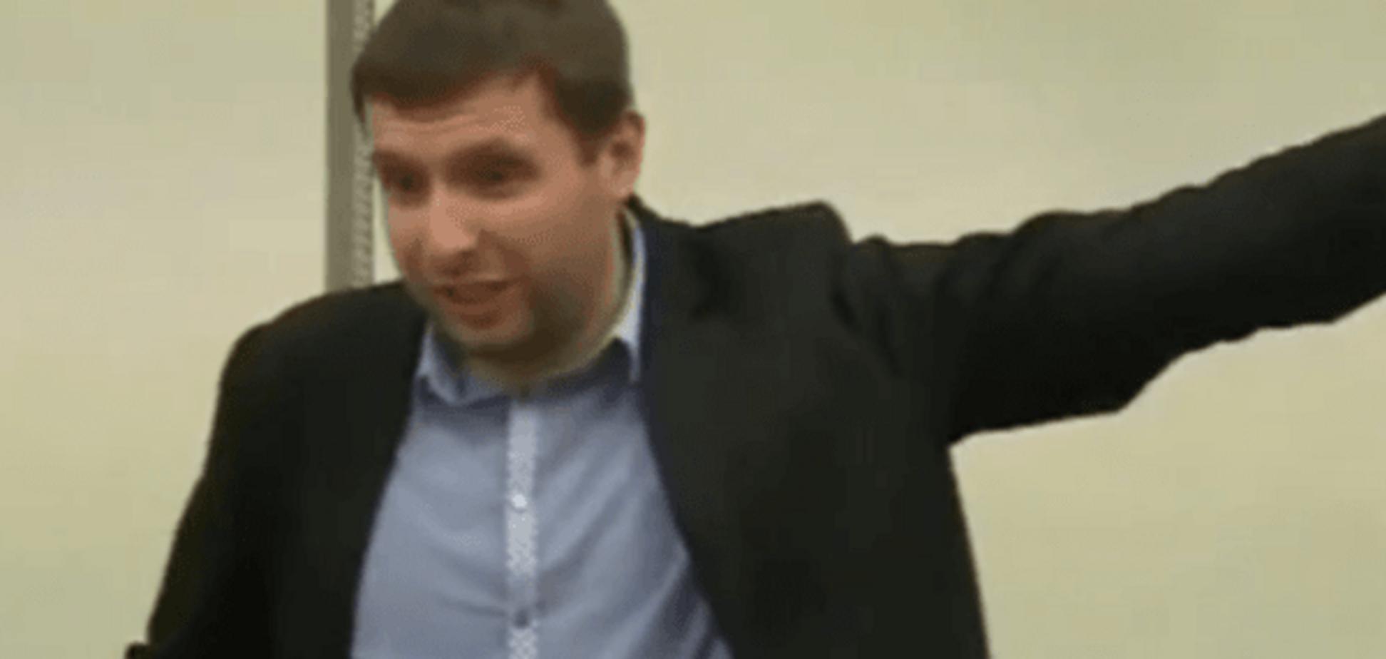 'Ви брехун': невгамовний Парасюк зірвав брифінг Генпрокуратури. Відеофакт