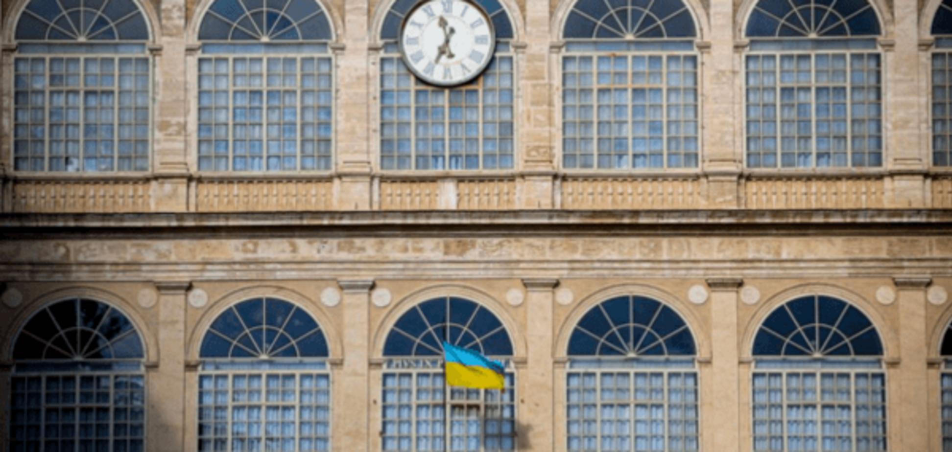 На палаці Папи у Ватикані з'явився прапор України: фотофакт