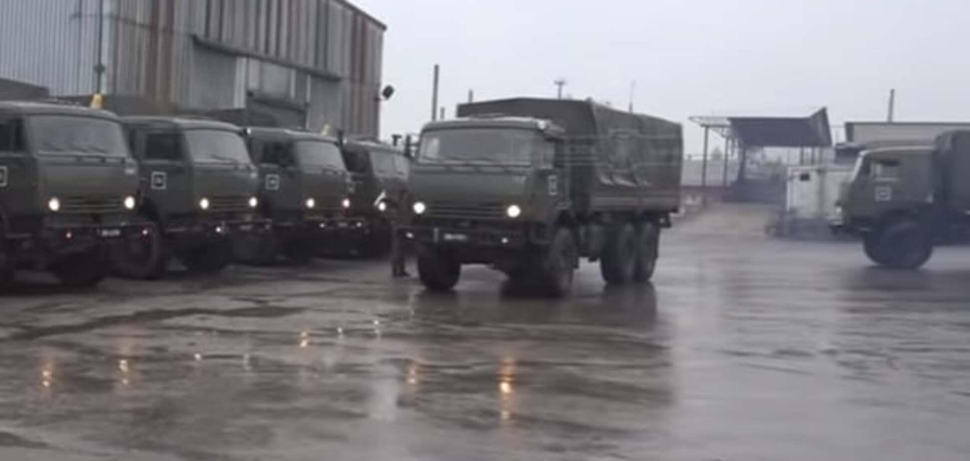 Терористи 'ЛНР' сховали техніку в луганській промзоні: відеофакт
