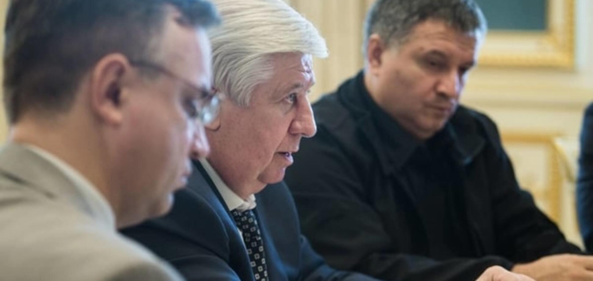 Шокін, Аваков і Грицак передумали звітувати про злочини на Майдані