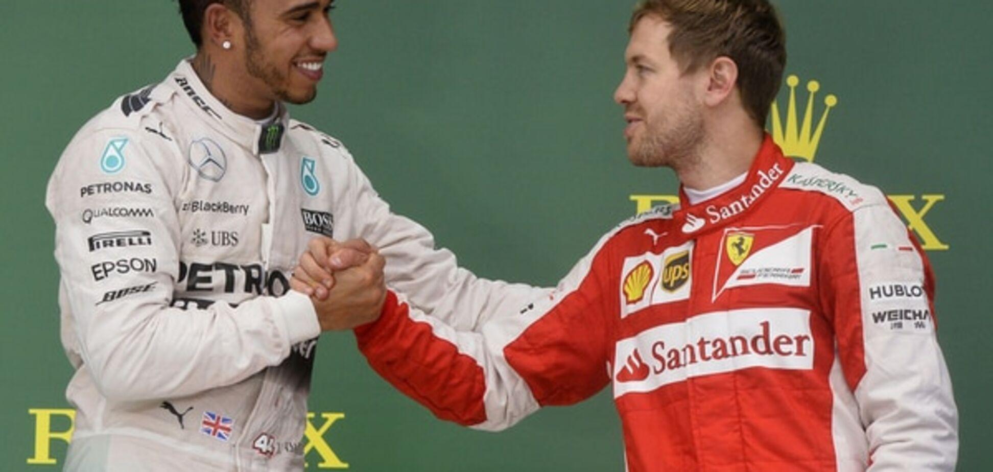 Триразовий чемпіон світу загнобив пілотів Ferrari і Red Bull