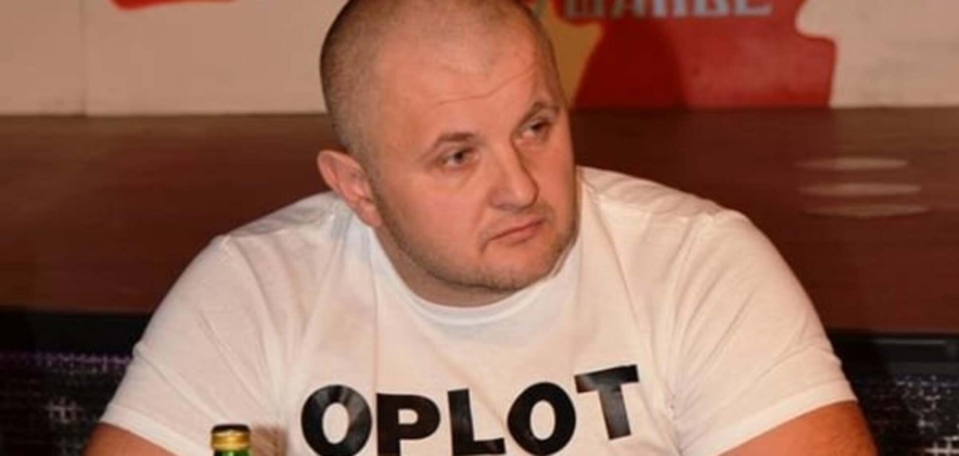 Помощник основателя 'Оплота' получил награду от министра Полторака