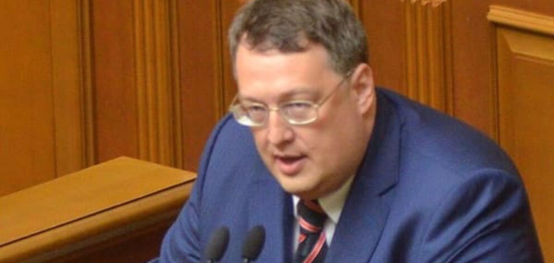 Геращенко: поліцейського, що закликав розігнати Майдан, звільнять незабаром