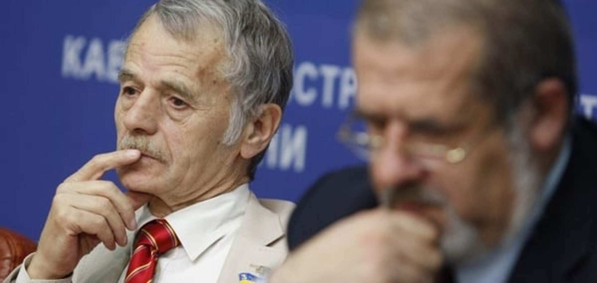 О чем договорились Джемилев и Чубаров с Порошенко
