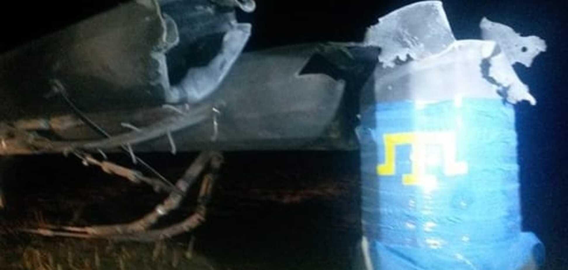 В Херсонской области взорвали электроопоры: Крым полностью обесточен