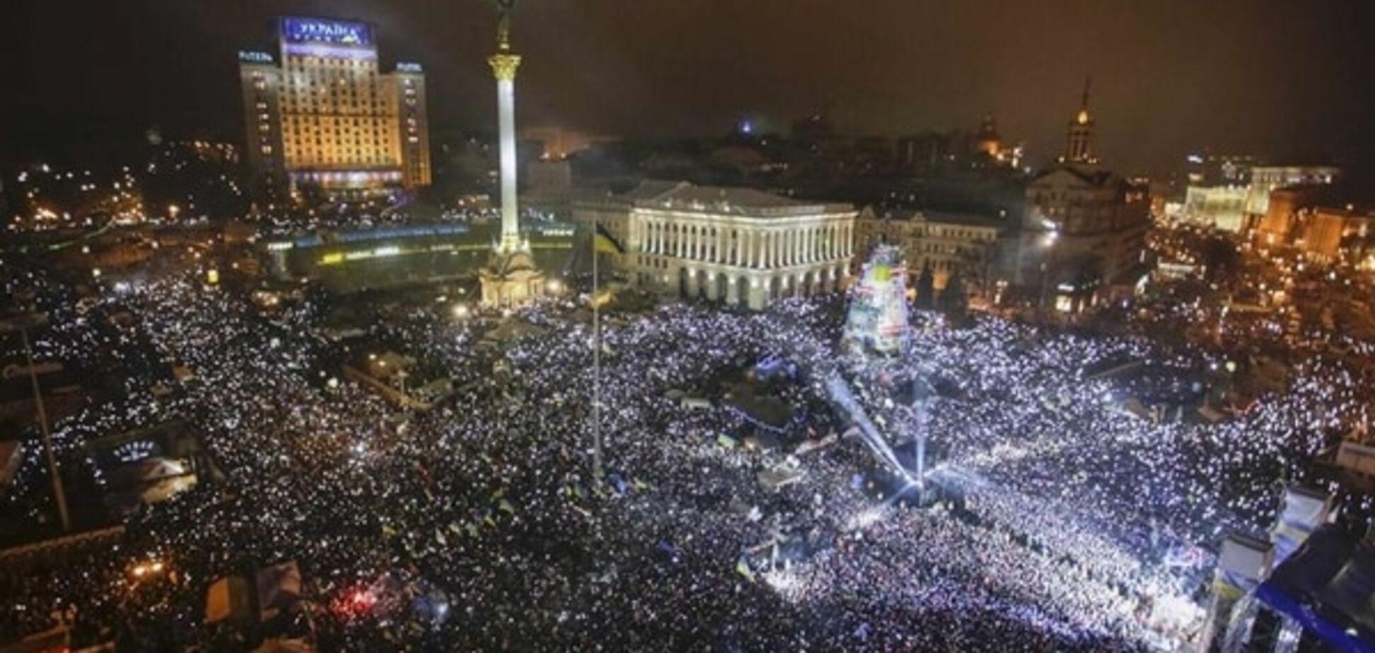Європейські лідери привітали Україну з Днем Гідності і Свободи