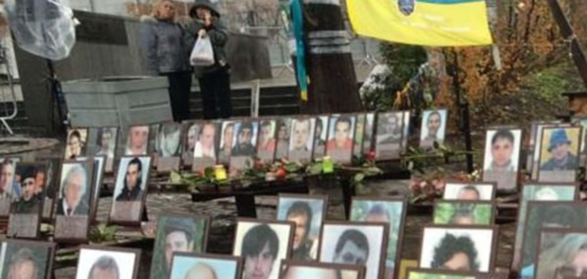 У Києві відкрили меморіал Героям Небесної сотні: фото