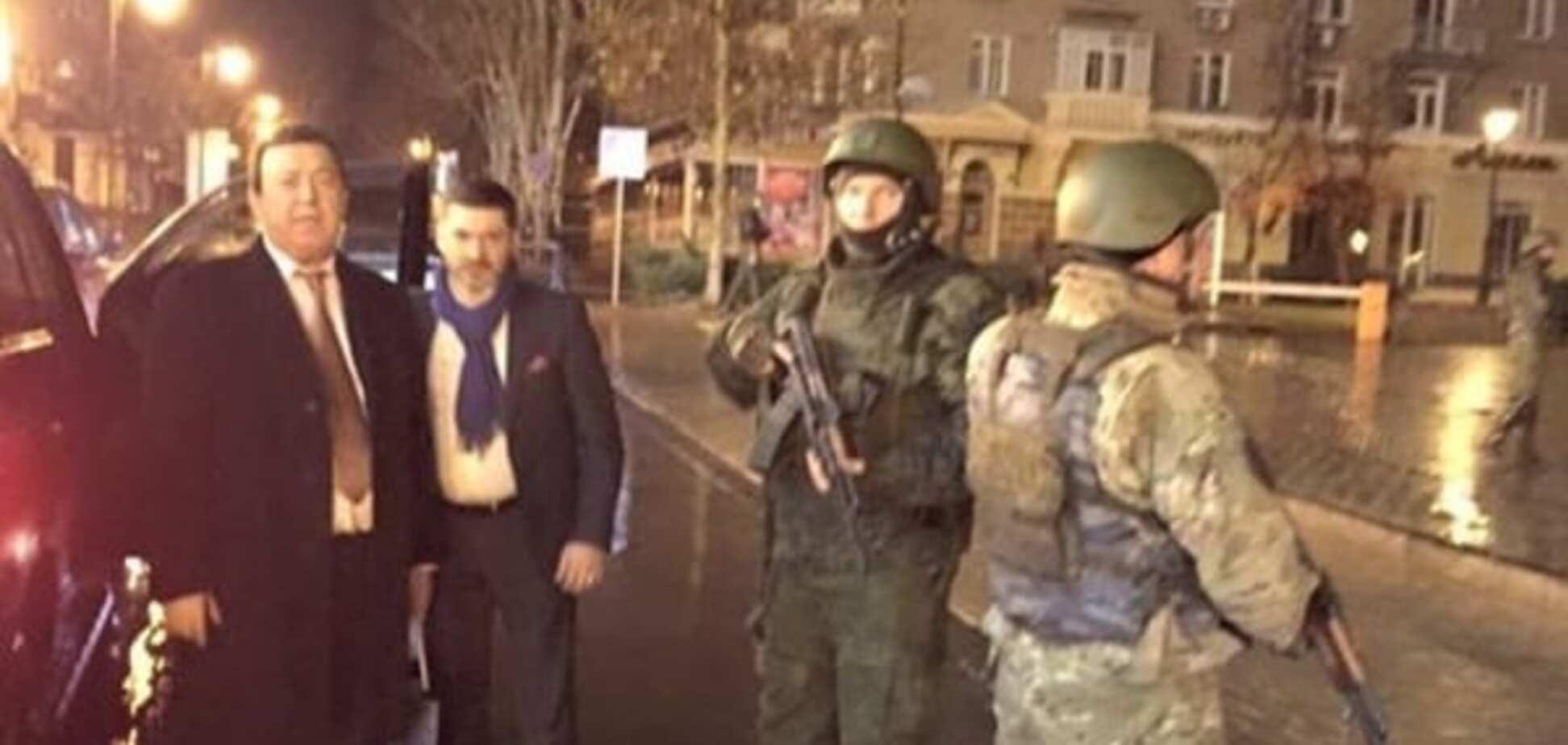 Кобзон знову приїхав у гості до терористів у Донецьк: опубліковані фото і відео