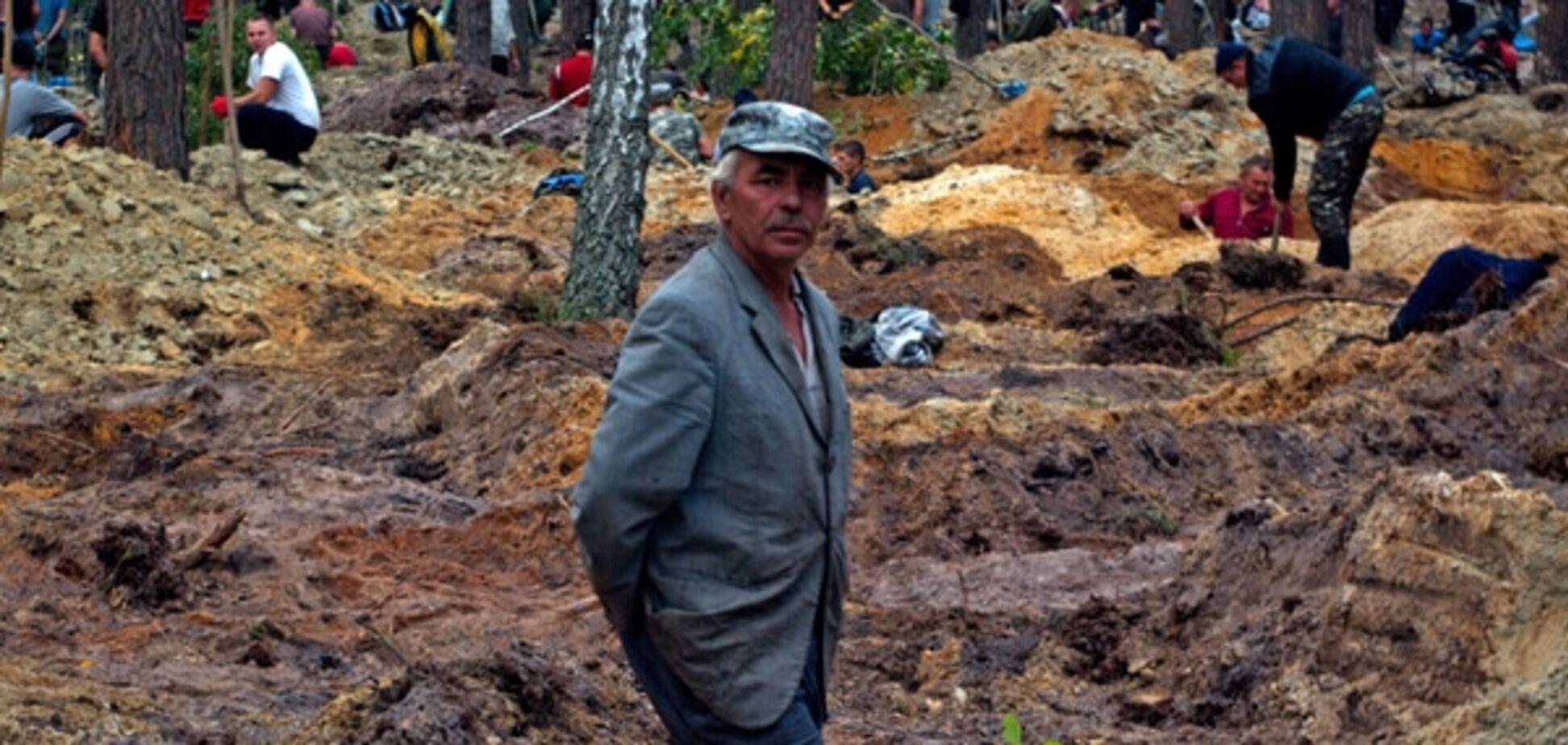 В СБУ рассказали о 'спруте', который 'крышует' добычу янтаря в Украине