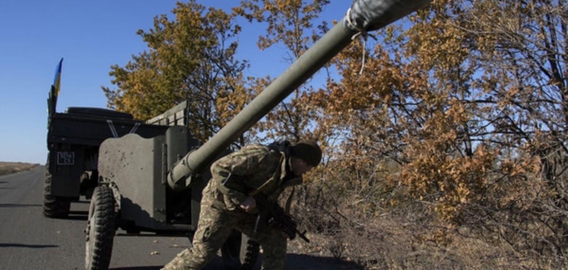 Зона АТО: терористи зосередилися на Донецькому напрямку