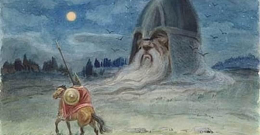 Голова из сказки руслан и людмила картинки
