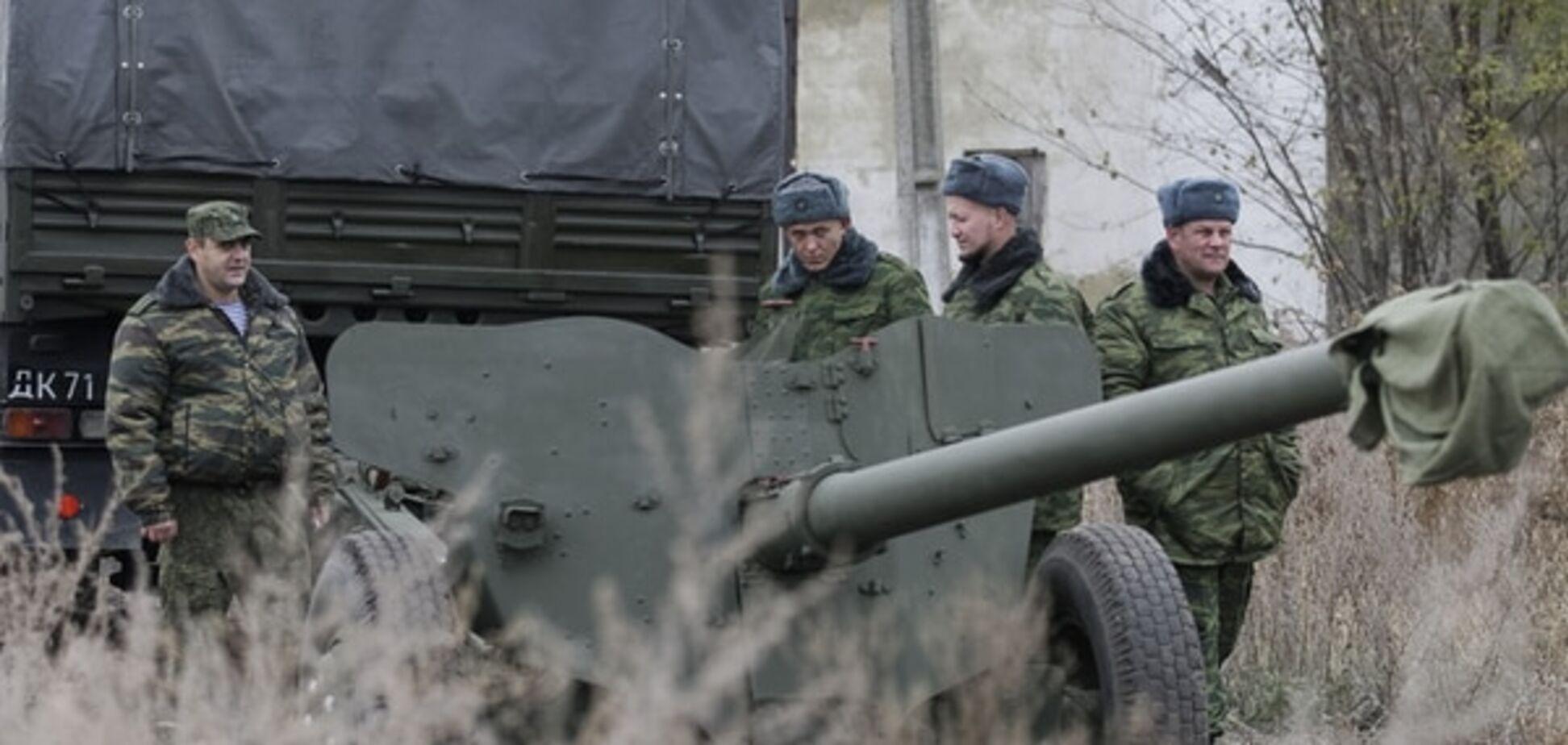 Терористи вчинили наступ на позиції сил АТО в Опитному