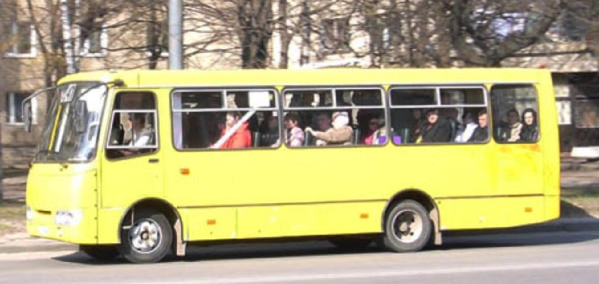 На Київщині хлопець викрав маршрутку