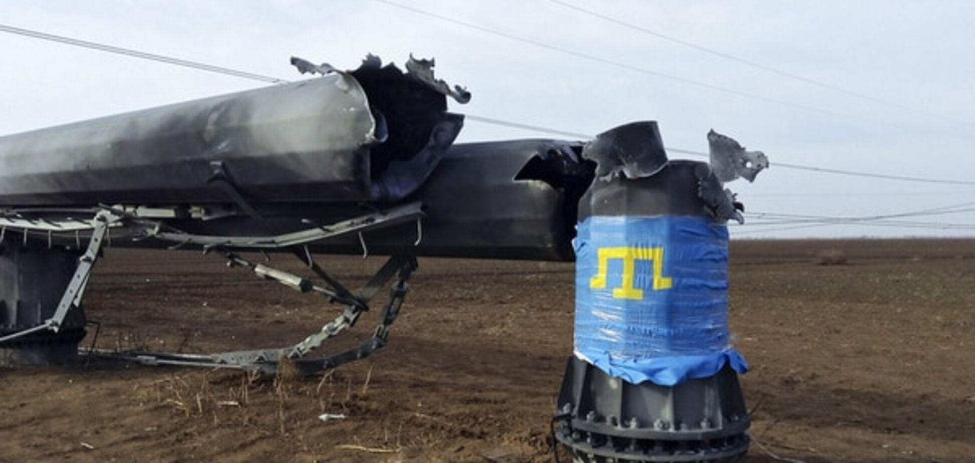 Германия: подрыв ЛЭП в Крым - преступление