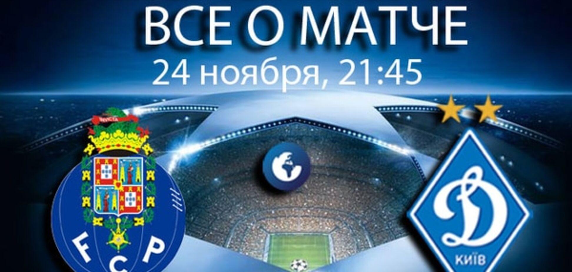 Порту - Динамо: анонс, прогноз, где смотреть матч Лиги чемпионов