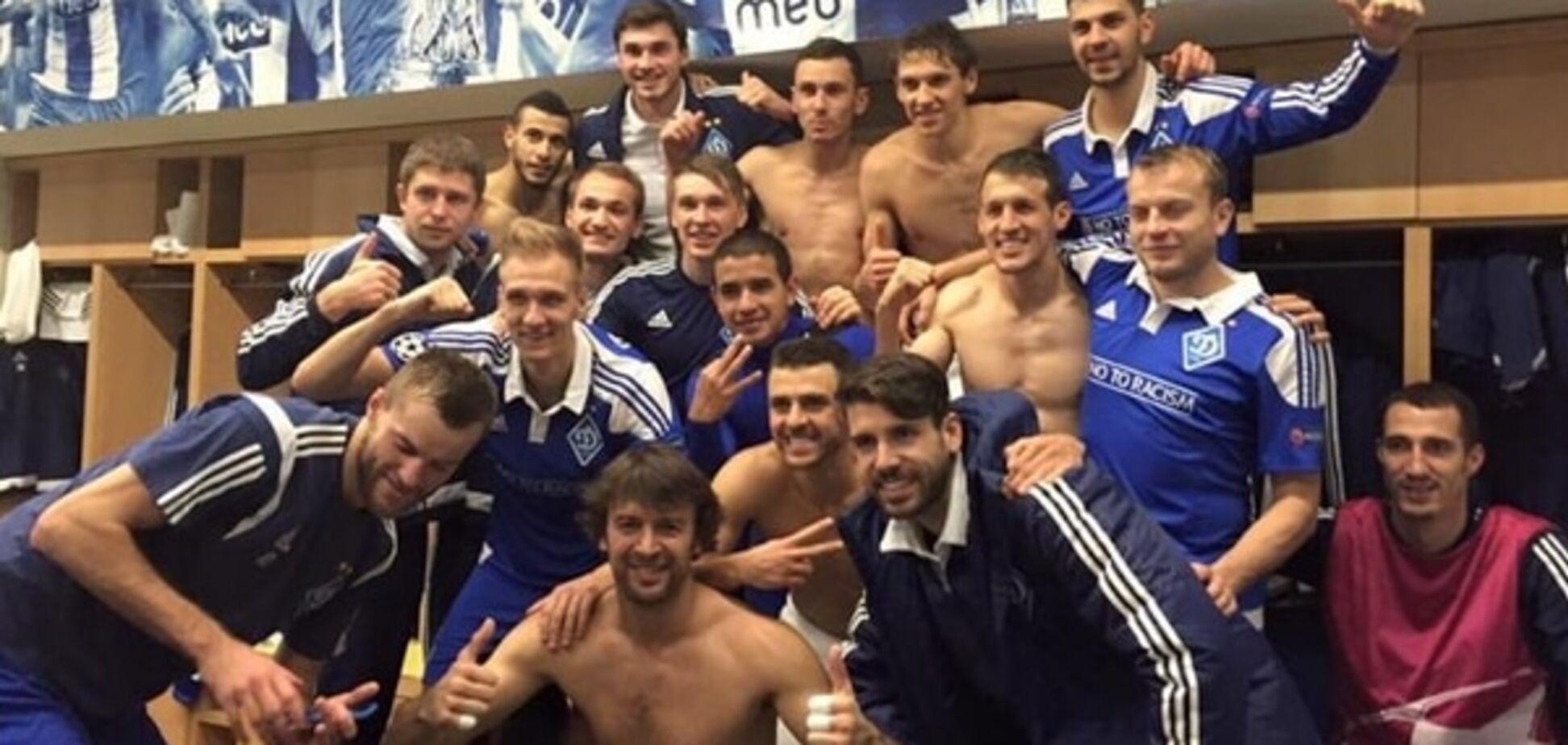 Шовковський показав, що творилося в роздягальні 'Динамо' після перемоги над 'Порту' в Лізі чемпіонів