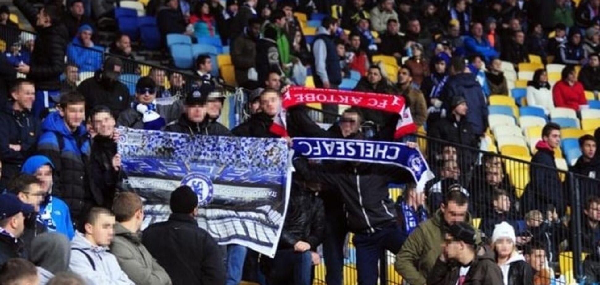 УЕФА жестоко наказал 'Динамо' за драку на матче с 'Челси'
