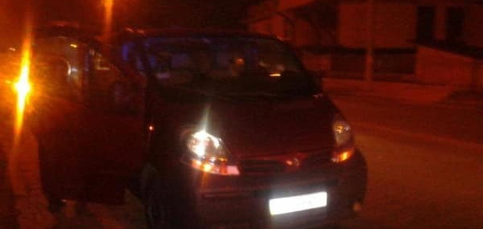 В Ривне полиция на дороге повязала пьяного священника с 'девочками'