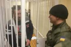 Задержанного за события под Радой 31 августа журналиста отпустили из-под стражи: фотофакт