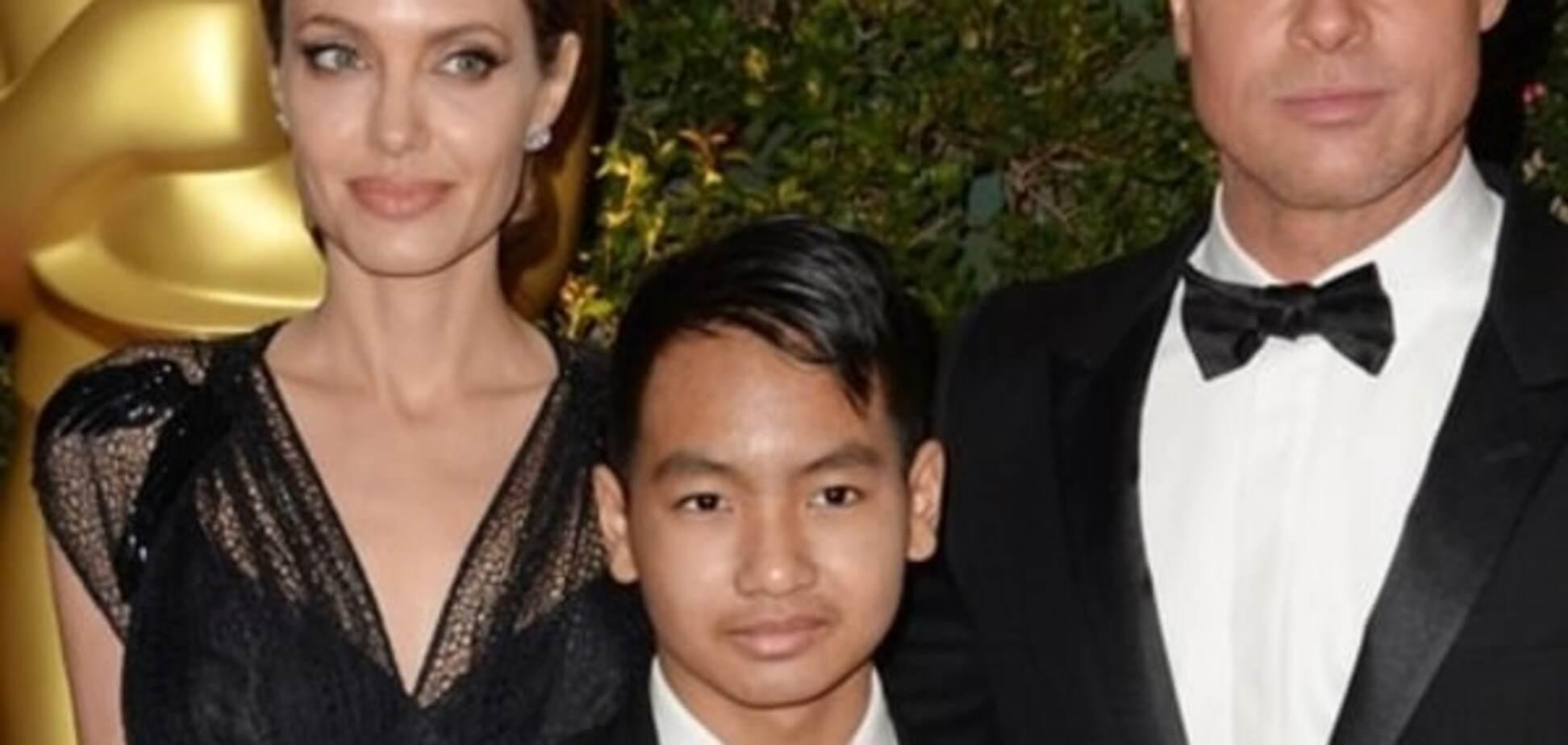 14-летнего сына Джоли признали секс-символом