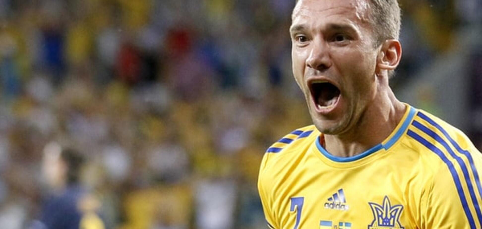 В сборной Украины подтвердили возвращение Шевченко перед Евро-2016