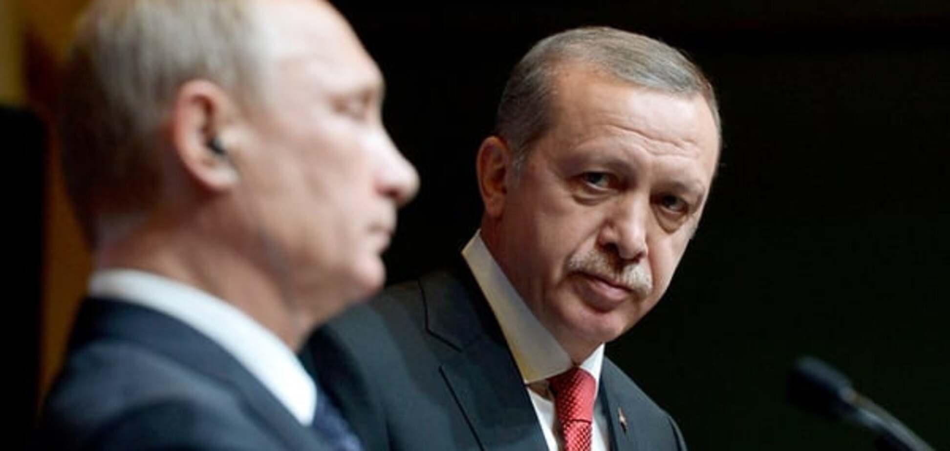 Сванідзе пояснив, чому Заходу вигідний конфлікт Путіна і Ердогана