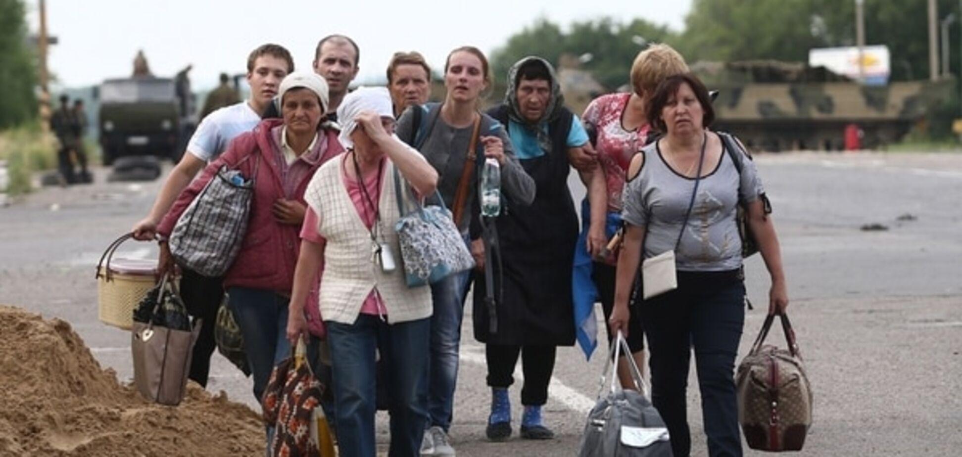 Шлосберг: беженцы неизбежно вернутся из России на Донбасс – их депортируют