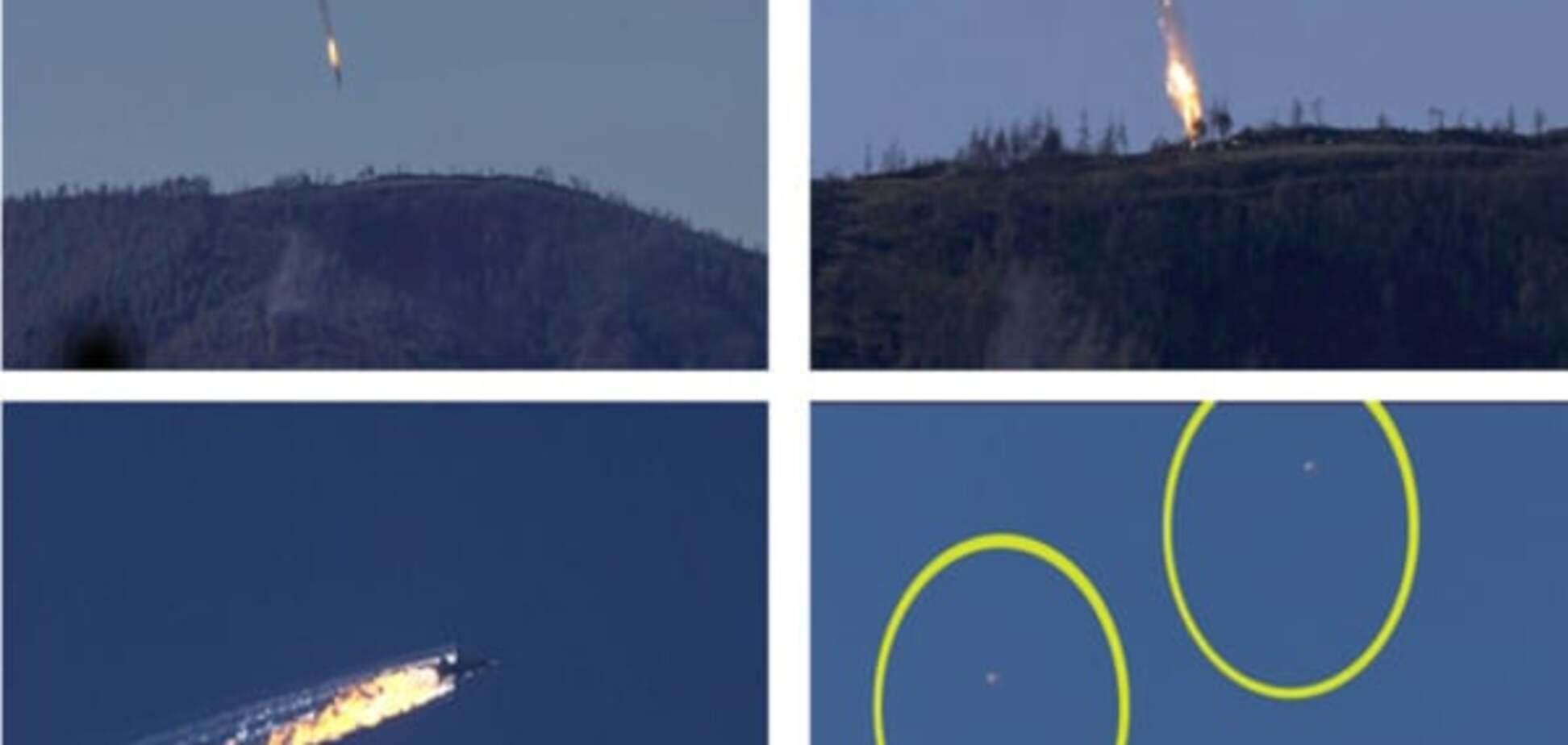 Сбитый Су-24 пилотировал слепоглухонемой экипаж
