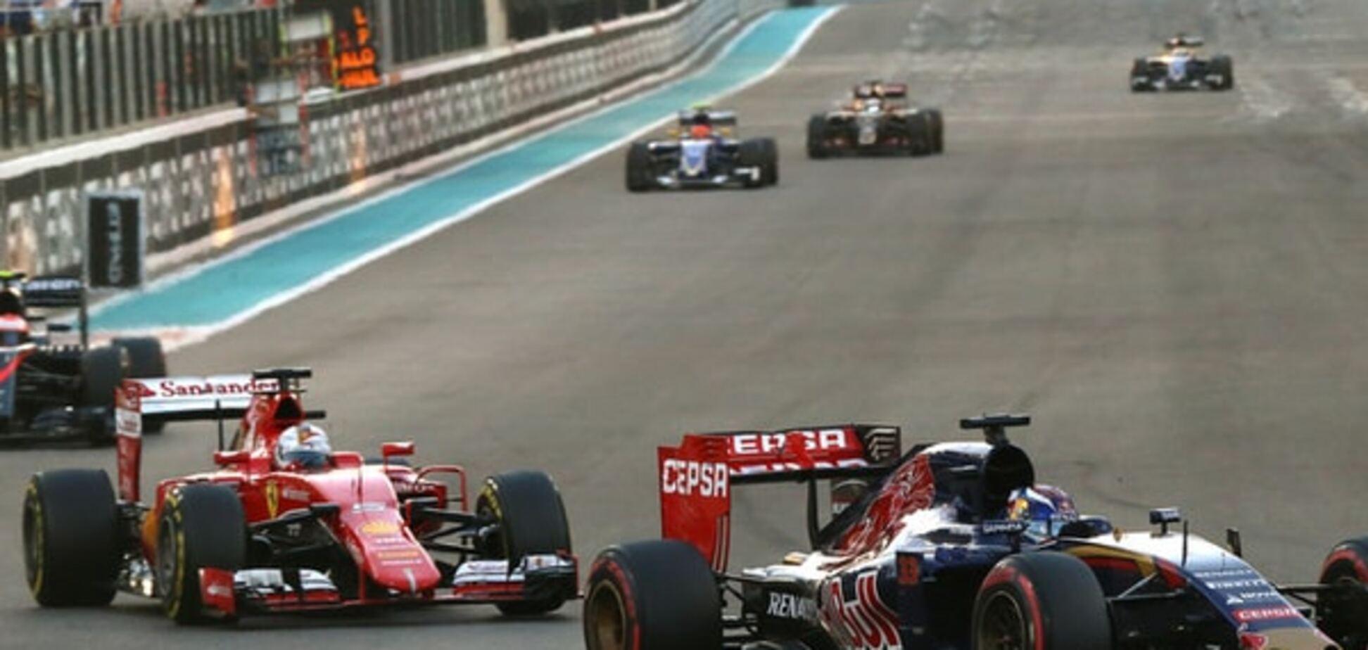 Феттель здійснив грандіозний прорив на останньому Гран-прі сезону Формули-1