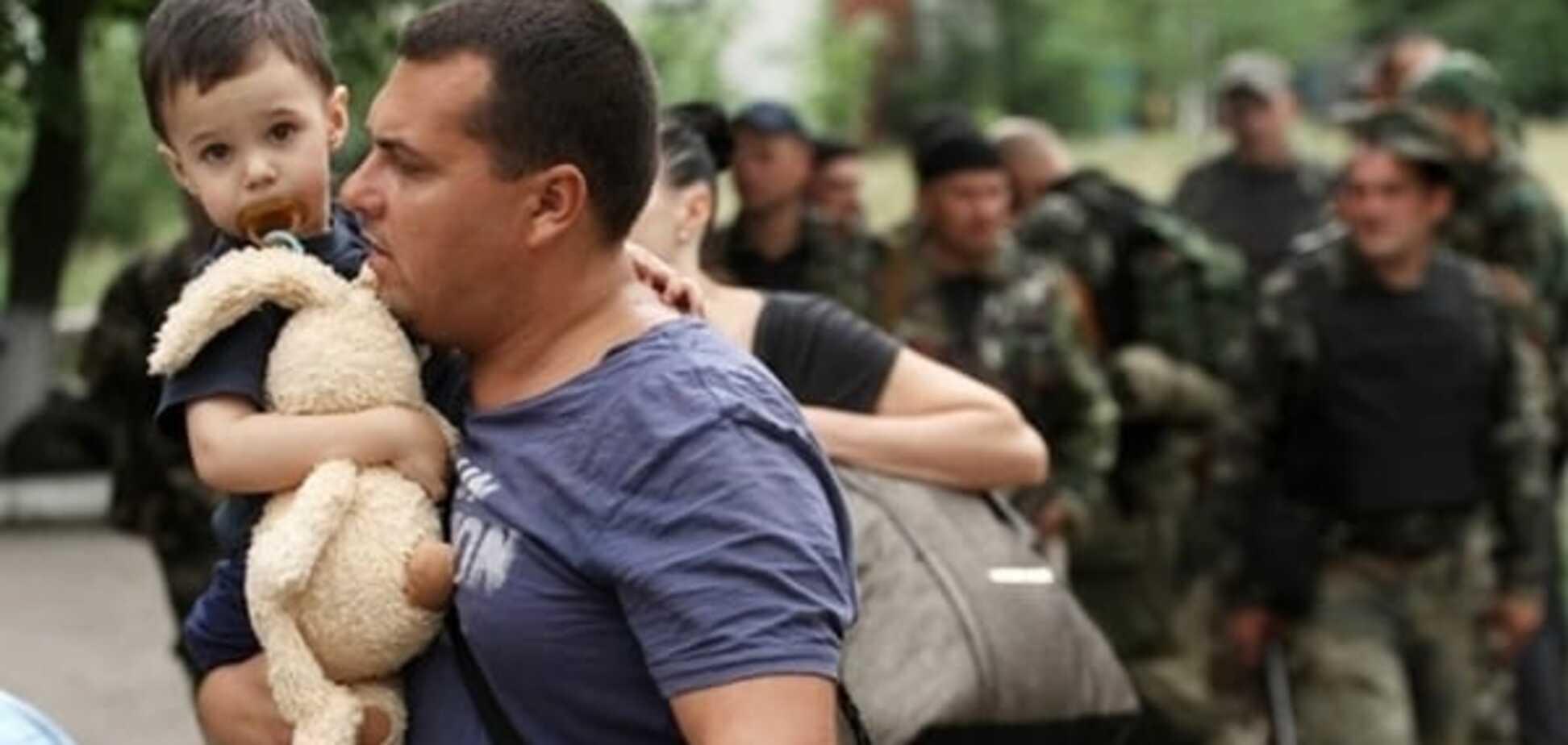 Половина жителей Донбасса сбежала от российских оккупантов