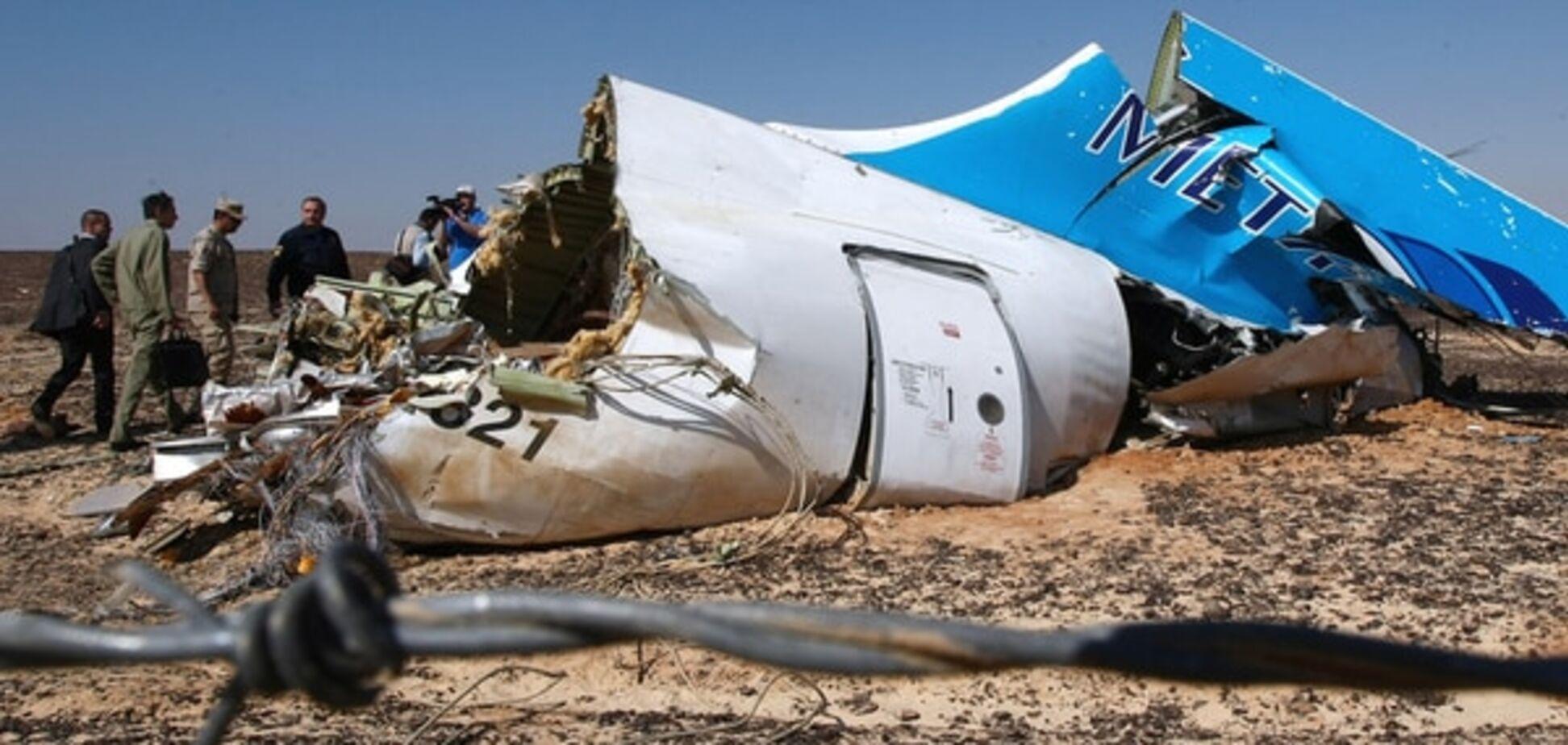 ЗМІ: серед уламків російського аеробуса знайшли сторонні елементи