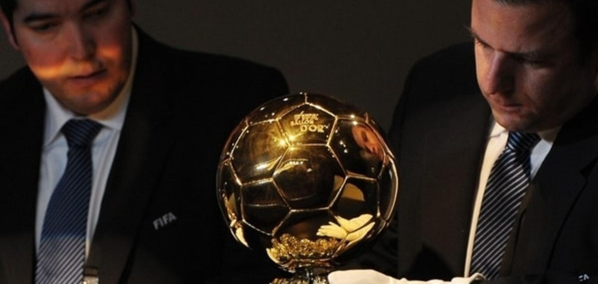 ФИФА назвала тройку претендентов на 'Золотой мяч'-2015