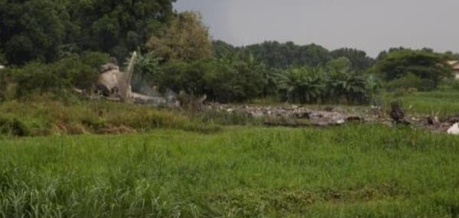 Россия открестилась от рухнувшего в Южном Судане самолета