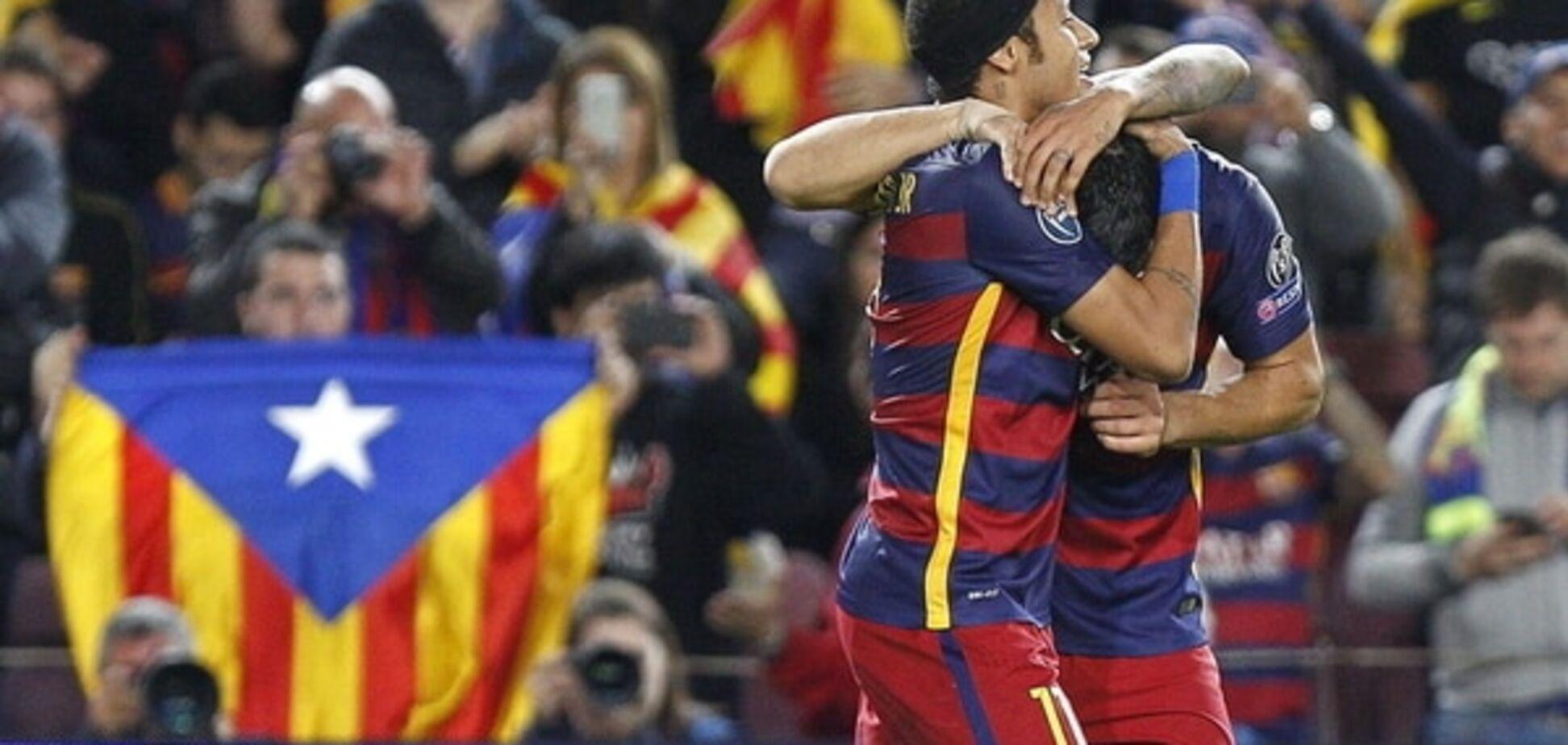 'Барселона' разгромила белорусский БАТЭ: видео-обзор матча