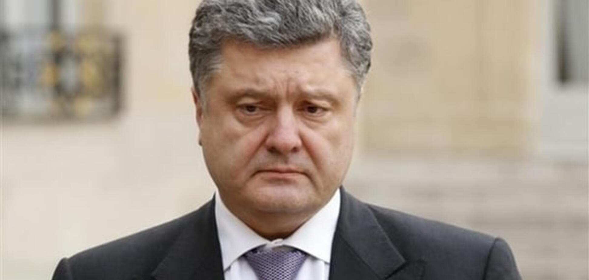 Порошенко не принял отставку Москаля