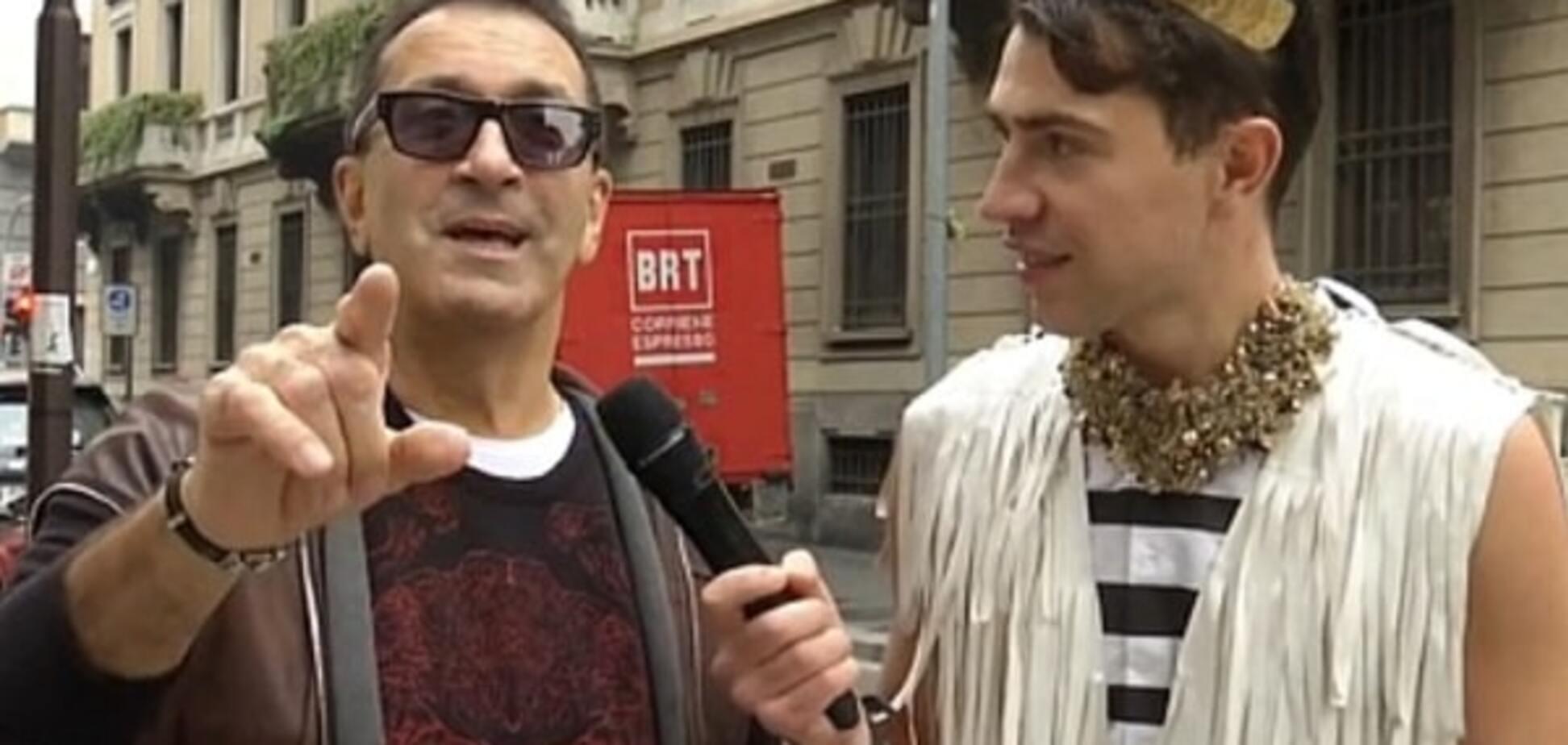 Украинский журналист спровоцировал Буйнова обратиться к Путину: опубликовано видео
