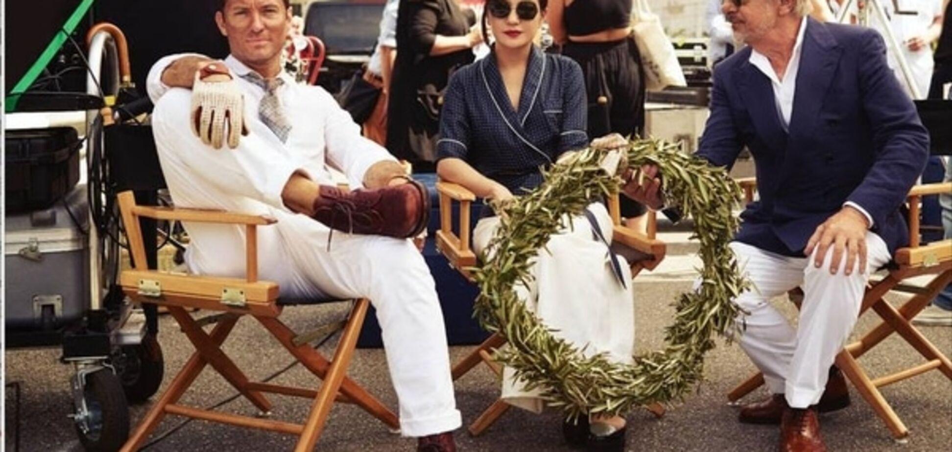 Джуд Лоу и Джанкарло Джаннини представили вторую серию фильма 'Пари джентльменов' в Риме
