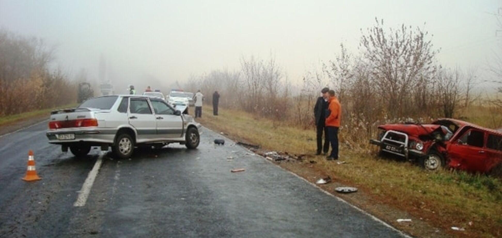 'Жертвами' жорстокої аварії на Черкащині стали 7 осіб: фотофакт