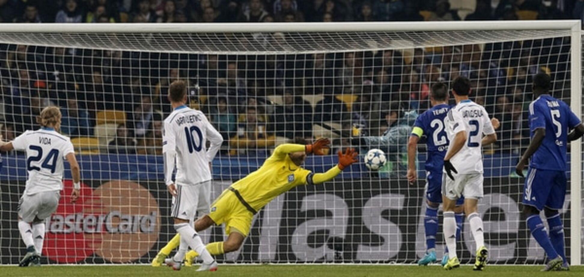 Шовковский установил рекорд Лиги чемпионов