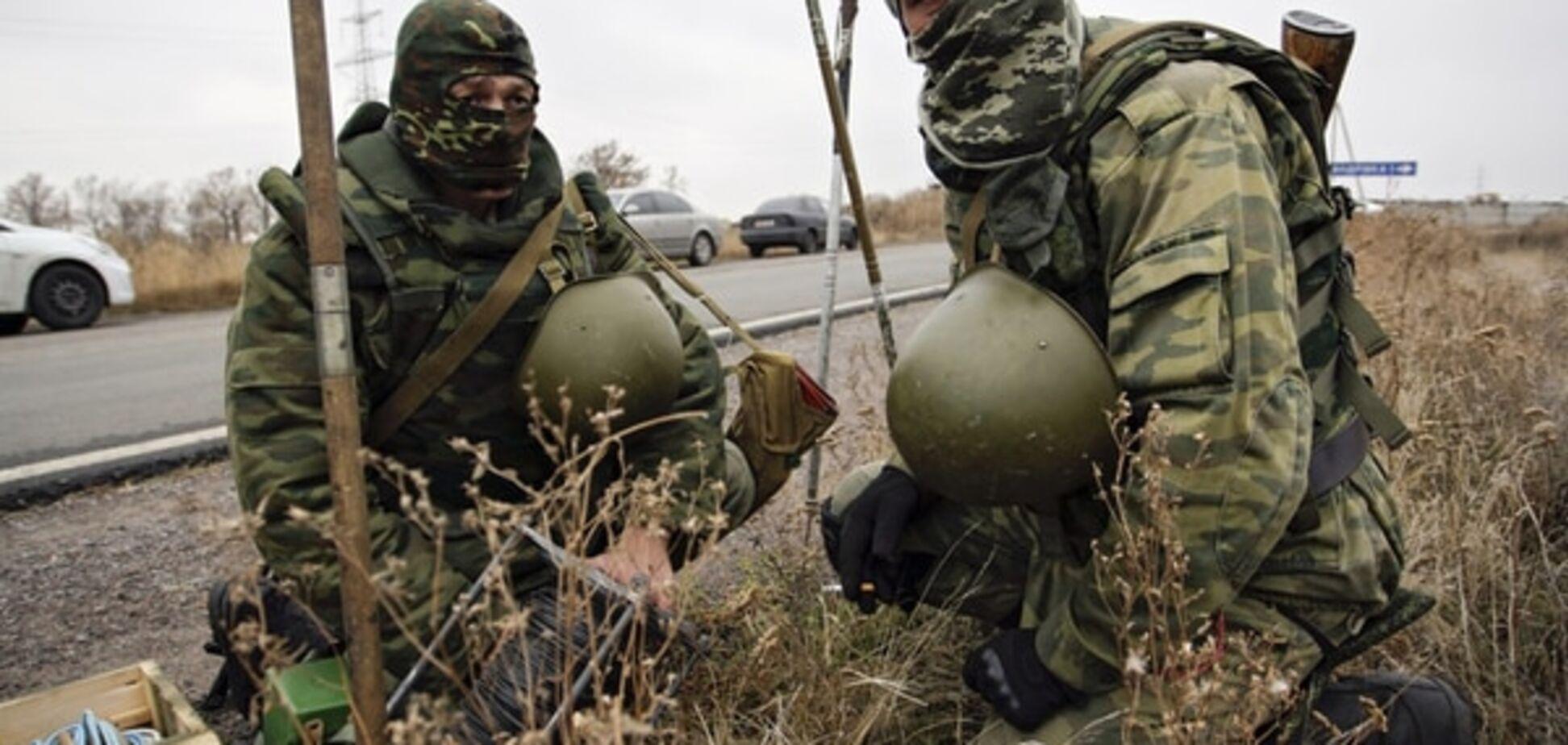 Терористи з мінометів обстріляли бійців АТО в Красногорівці