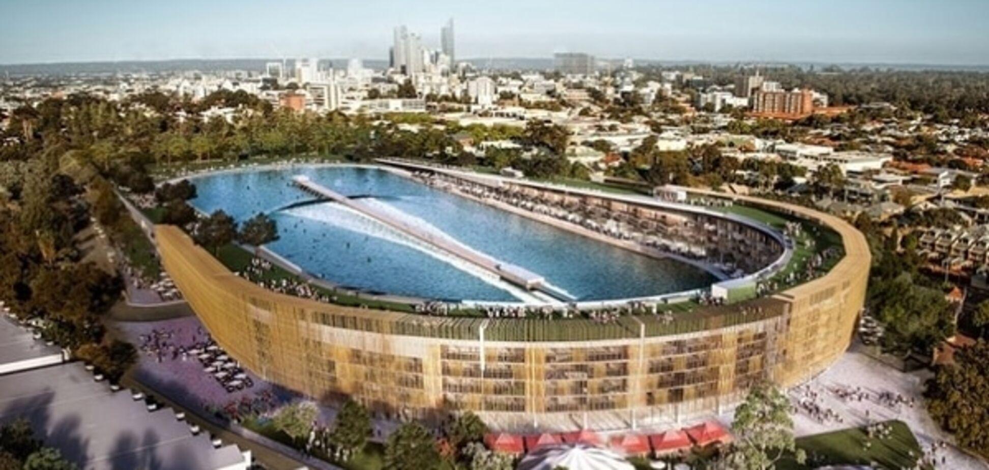 Ничего невозможного: в Австралии появится стадион для серфинга. Фоторепортаж