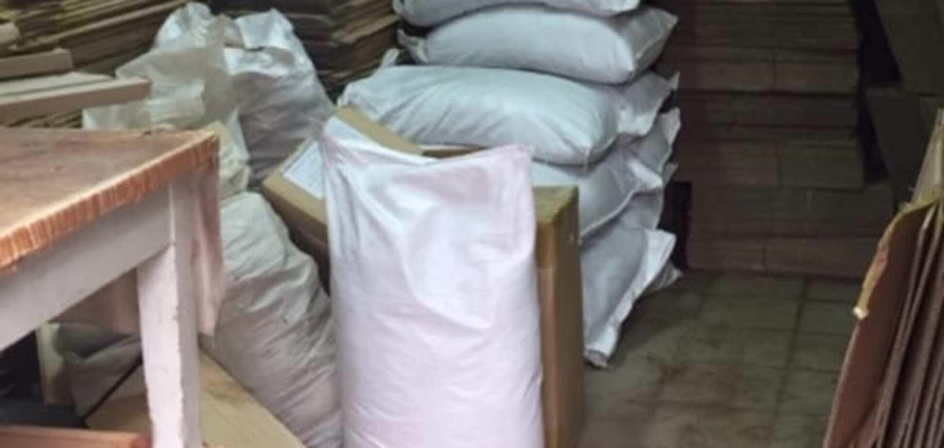У Києві накрили цех з виробництва підробленої кави