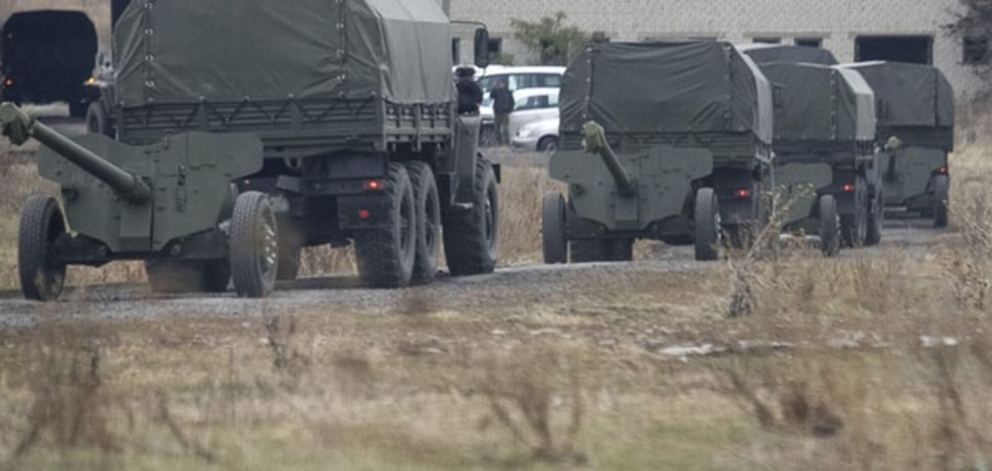 Террористы обстреляли силы АТО в районе Авдеевки и Красногоровки