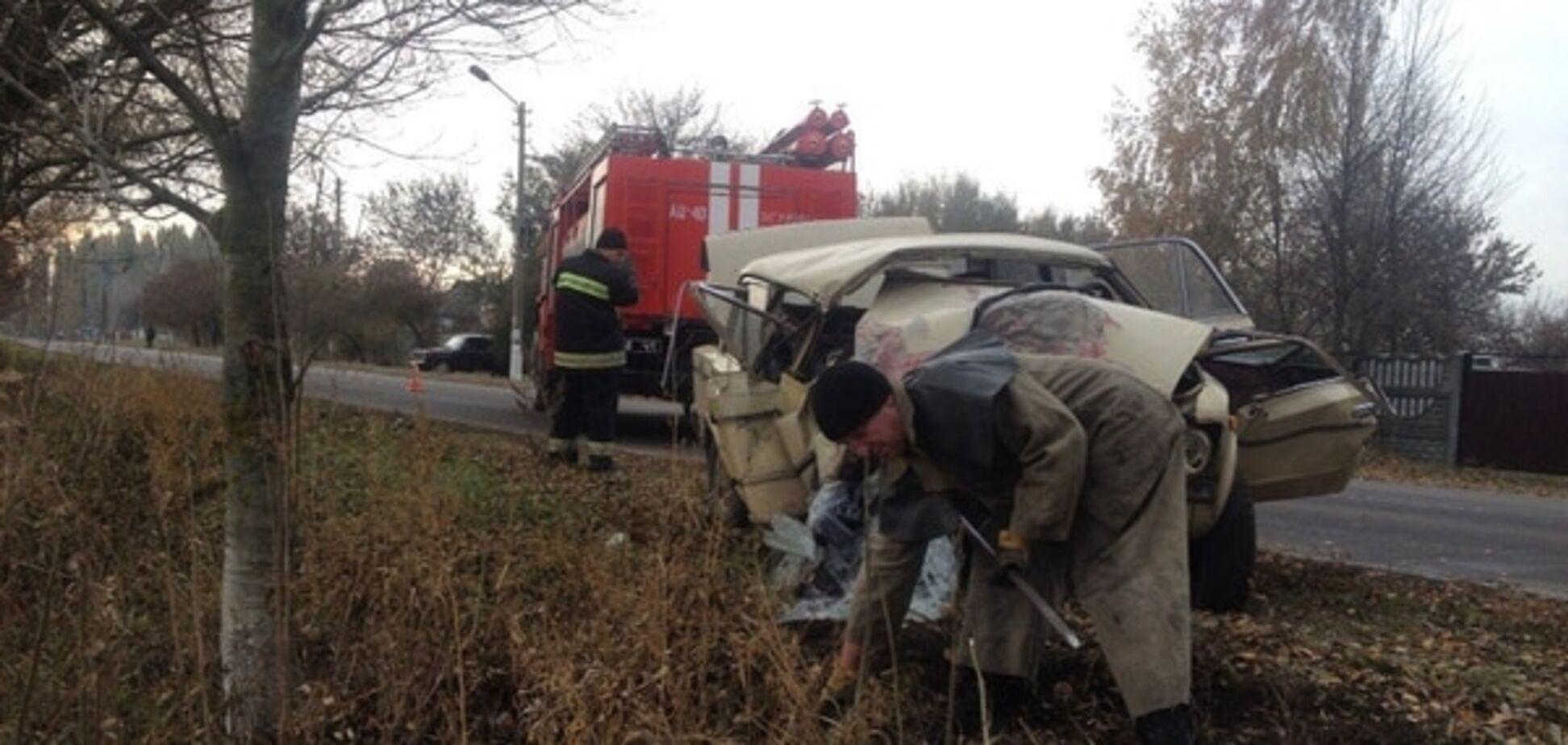 Криваве ДТП на Київщині: загинули два пасажири авто, водій у лікарні