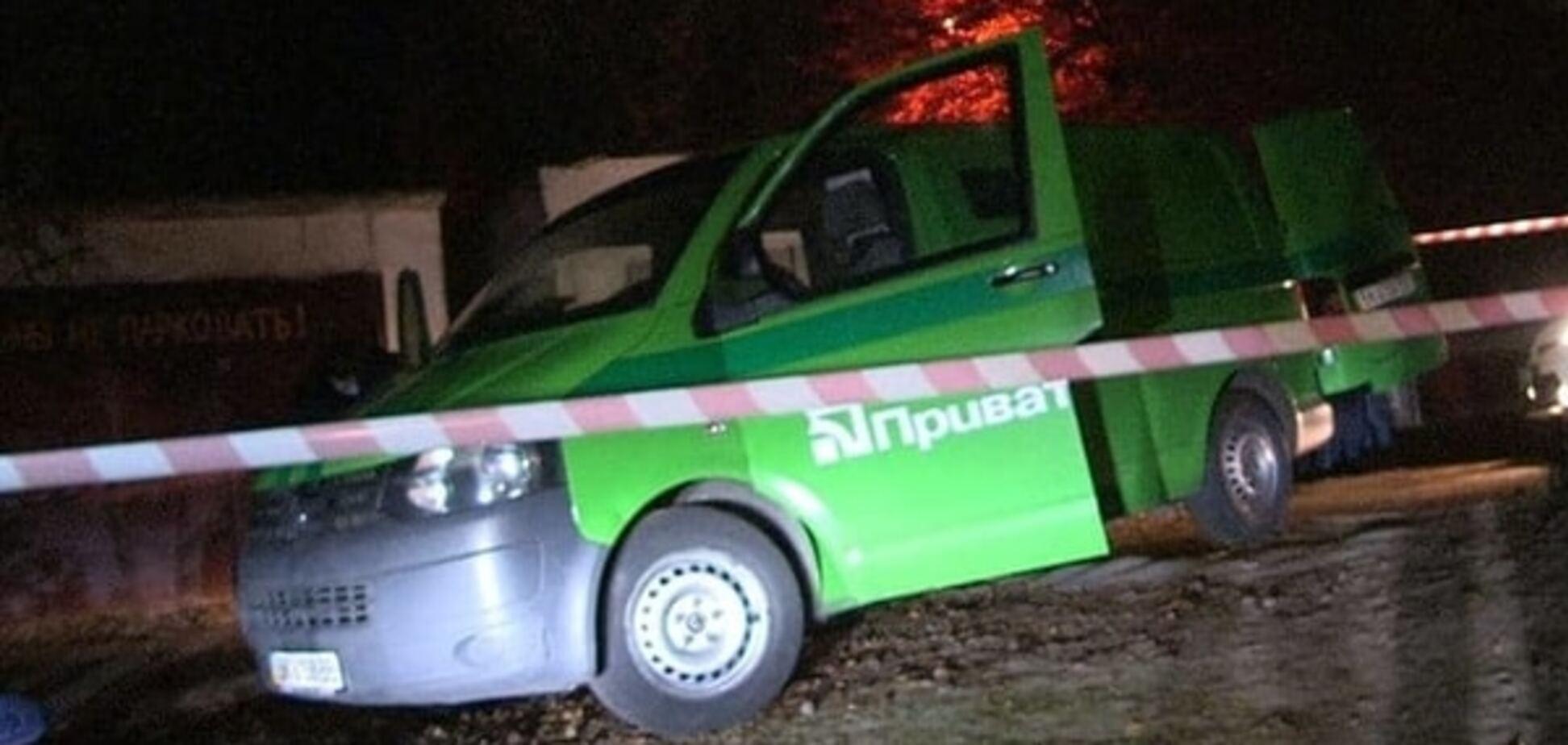Ограбление инкассаторов в Киеве: в МВД рассказали подробности