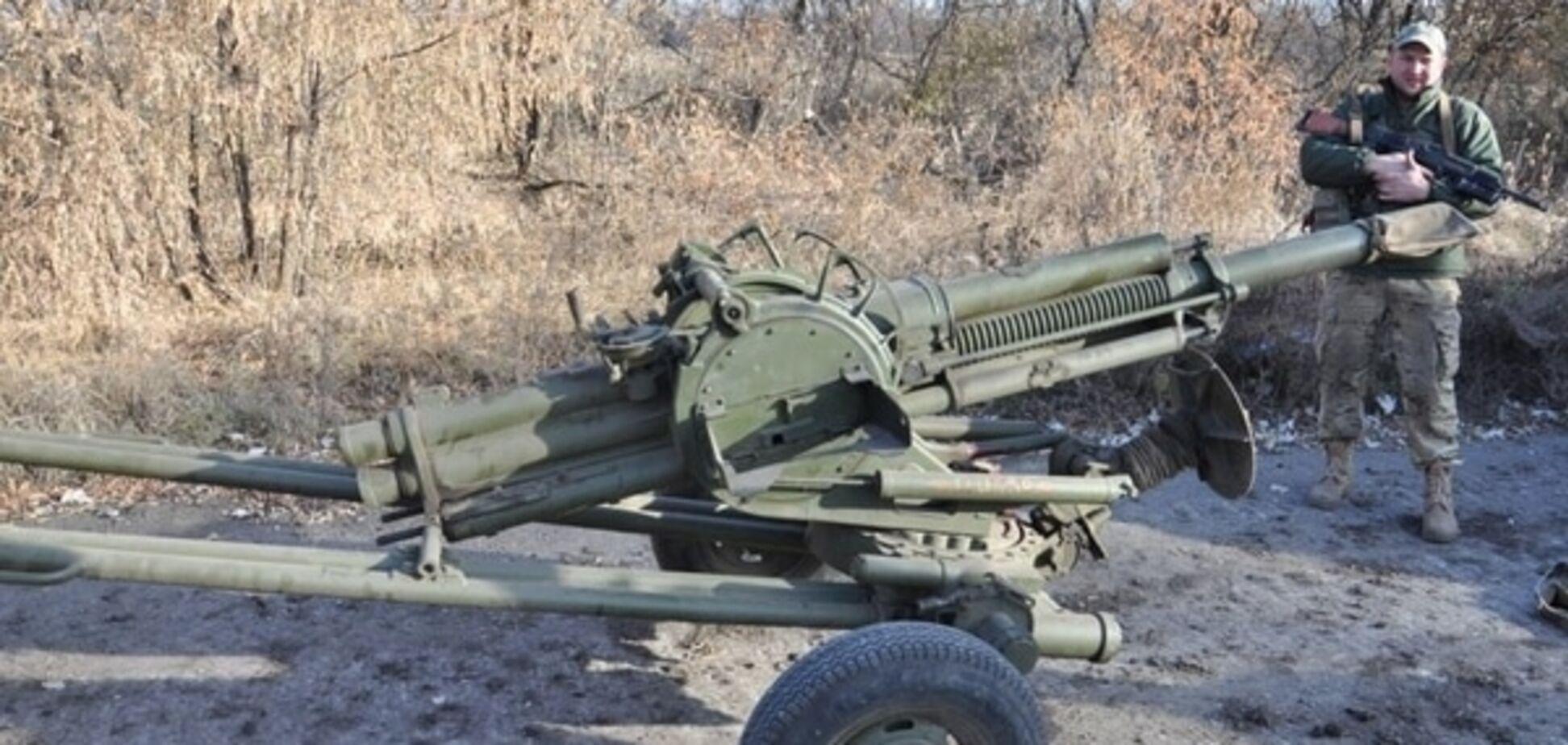Сили АТО завершили відведення мінометів на Донецькому напрямку